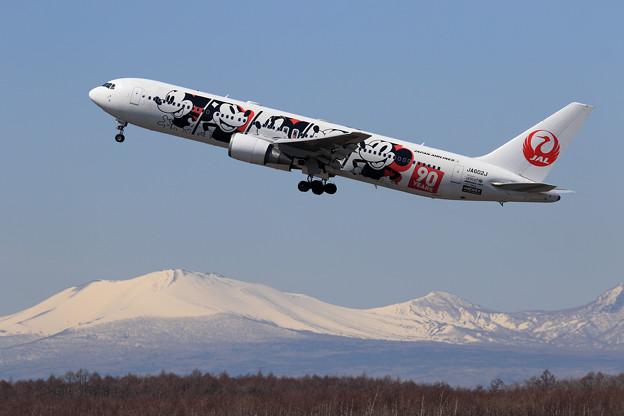 B767 JAL JA602J takeoff