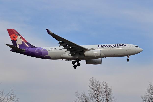A330 Hawaiian N399HA approachi