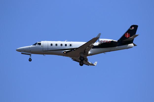 IAI 1125A Astra C-FYLD approach