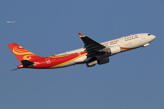 A330 HongKong Airlines B-LNE takeoff