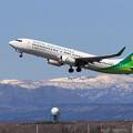 Photos: Boeing737 春秋航空日本 JA01GR takeoff