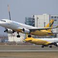 A320 Vanilla Air JA15VA takeoff