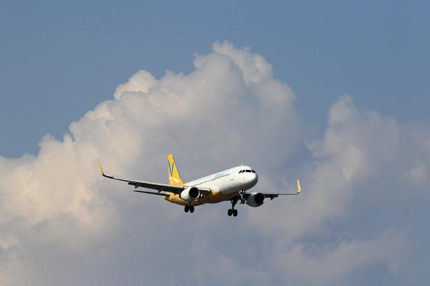 Photos: A320 VNL もくもくぐも