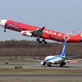 Photos: A330 XAX 9M-XXA takeoff
