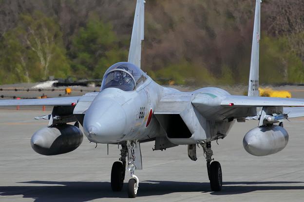 F-15J 203sq 僚機を待つ