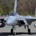 Photos: F-15J 203sq 僚機を待つ