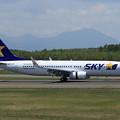 Photos: Boeing737-800 SKY JA73AB Delivery Flight