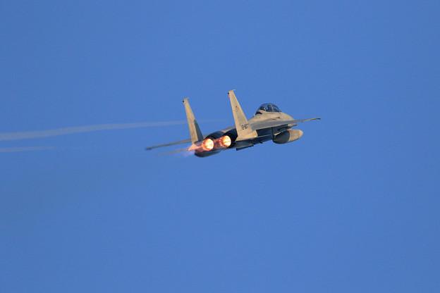 F-15DJ 201sq 077 Afterburner