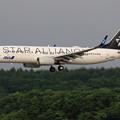 Photos: Boeing737 ANA JA51AN approach