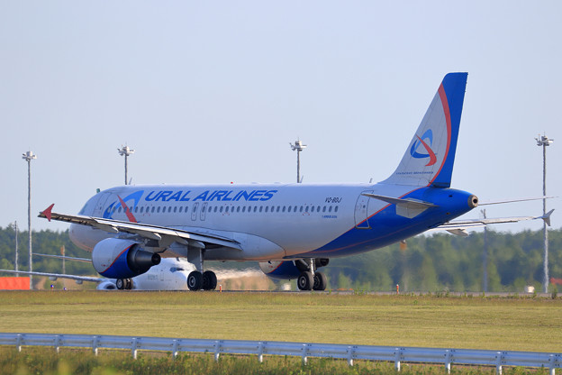 A320 Ural Airlines VQ-BDJ taxiing