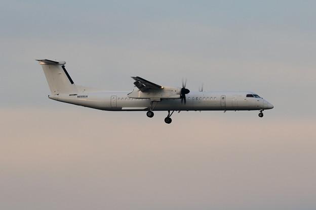 Q400 N699UA (ex JAC JA851C) ferry flight(1)