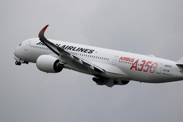A350 JAL JA01XJ takeoff