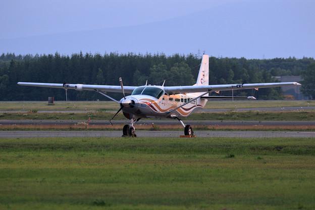 Cessna 208 Caravan N539FS ferry 途上