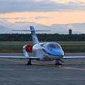 Photos: Honda Aircraft HA-420 Elite JA01JP 夕景stay