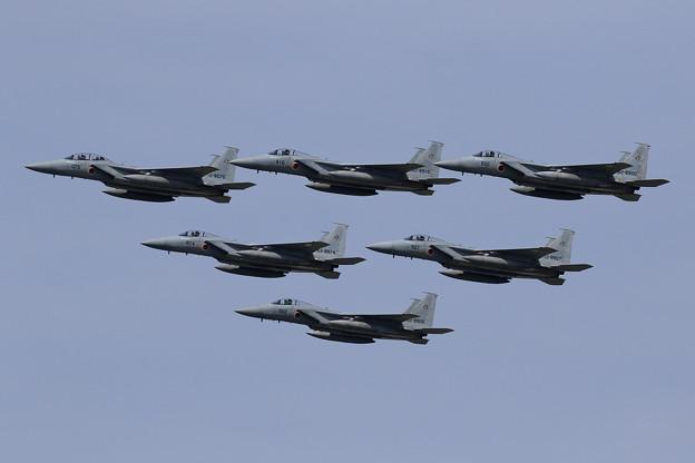 F-15 2019編隊航過予行