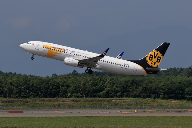 Photos: Boeing737-800 Mongolian Airlines EI-CXV takeoff