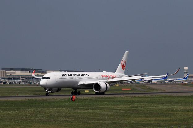 Photos: A350-900 JAL JA01XJ landing