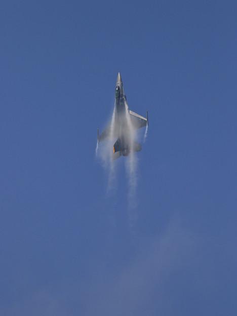 Photos: F-16C PACAF Viper Demo Team 予行 (4)