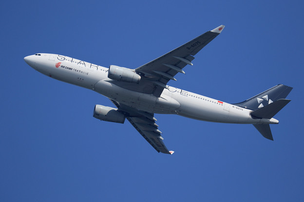 A330 CCA Star Alliance libery B-6075