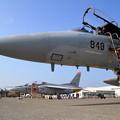千歳航空祭 地上展示 F-15 T-4