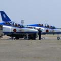 T-4 Blue Impulse 2機での展示飛行(1)