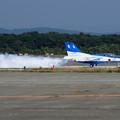 T-4 Blue Impulse 2機での展示飛行(5)