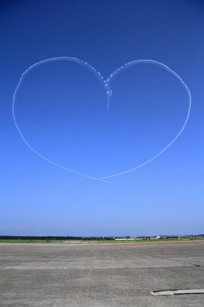 T-4 Blue Impulse 2機での展示飛行(9)