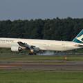 Photos: Boeing777 CX580 touchdown