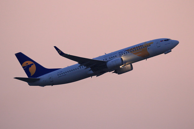 Boeing737 Mongolian Airlines JU-1088 (2)