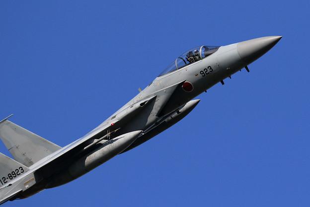 """F-15J 923 201sq takeoff to """"C"""""""