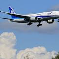 Photos: Boeing777 ANA JA744A approach