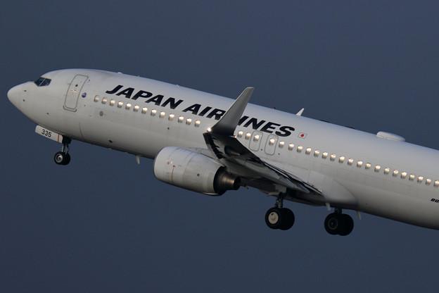 Boeing737-846 JAL JA335J takeoff