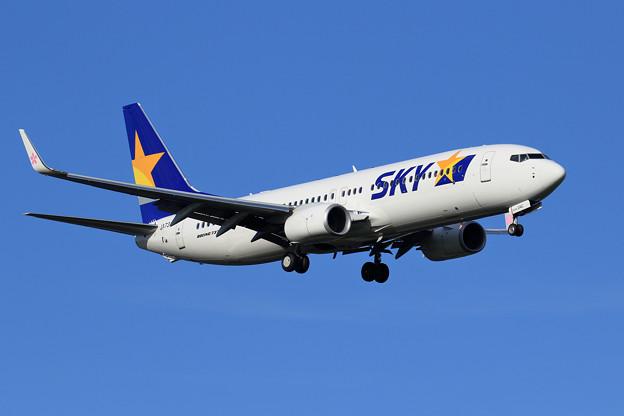 Boeing737-800 JA73AC SKY approach