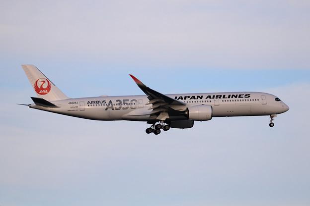 A350-900 JA02XJ JAL approach