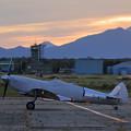 Photos: Silver Spitfire G-IRTY 飛来(6)