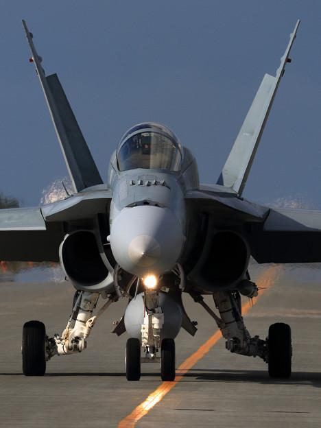 F/A-18A RAAF taxiing