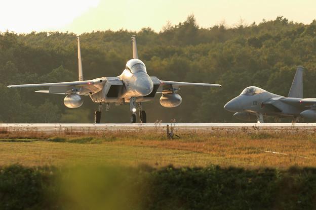 Photos: F-15 line up(2)