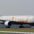 Photos: Boeing777 THA HS-TKF Royal Barge livery(1)
