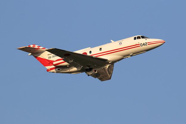 U-125 Flight check 042 low pass
