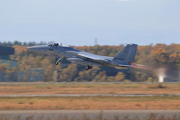 F-15J 934 201sq takeoff