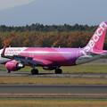 Photos: A320 Peach livery JA04VA