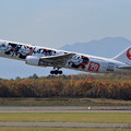 Photos: Boeing767 mickey takeoff