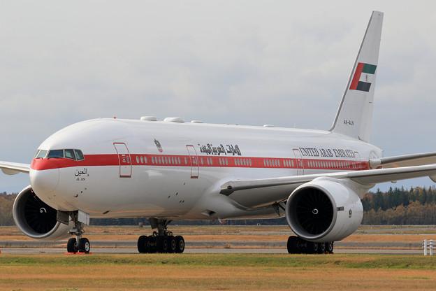 Boeing777 A6-ALN United Arab Emirates