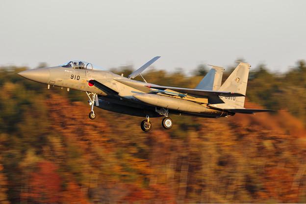 F-15J 夕暮れ時のlanding 201sq 910