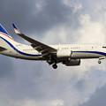 Boeing737 BBJ N213EM approach