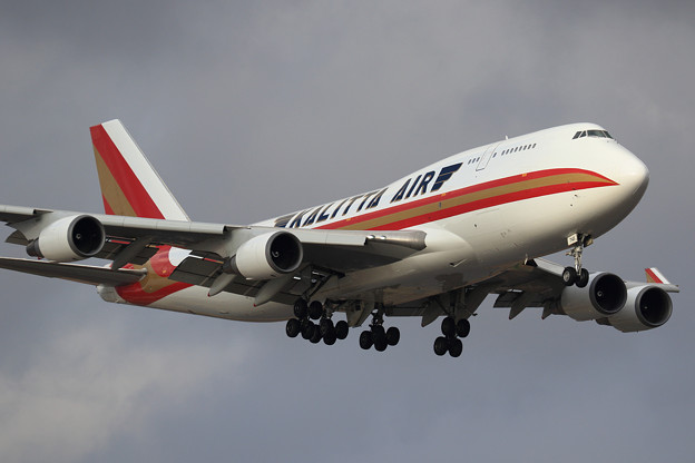 Boeing747F 久々のKalitta Air(1)