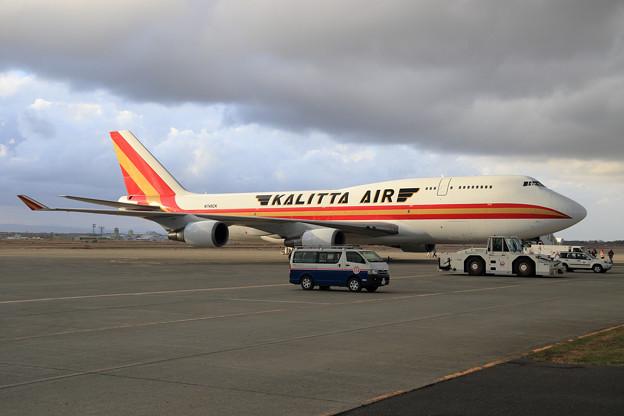 Boeing747F 久々のKalitta Air(3)