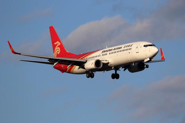 Boeing737-800 Shenzhen Airlines B-1710 approach(1)