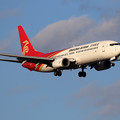 Photos: Boeing737-800 Shenzhen Airlines B-1710 approach(1)