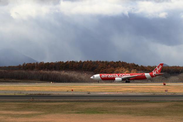 A330-900 Thai AirAsiaX 陽当たる